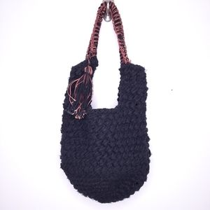 Free People Emmy Sweater Hobo Tote Bag